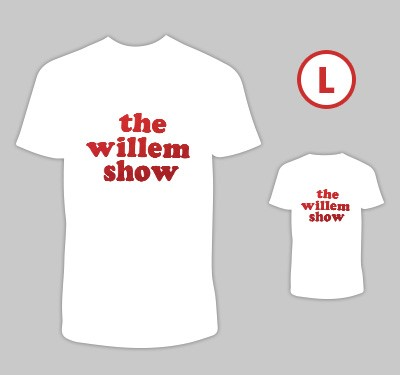 T-shirt 'The Willem Show' L
