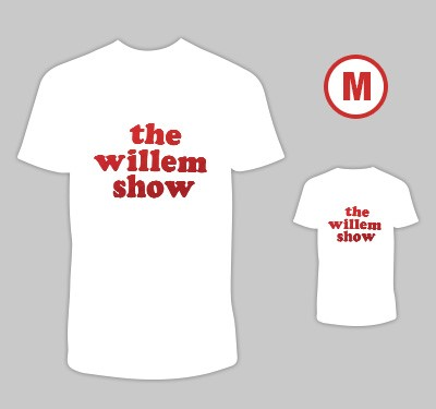 T-shirt 'The Willem Show' M