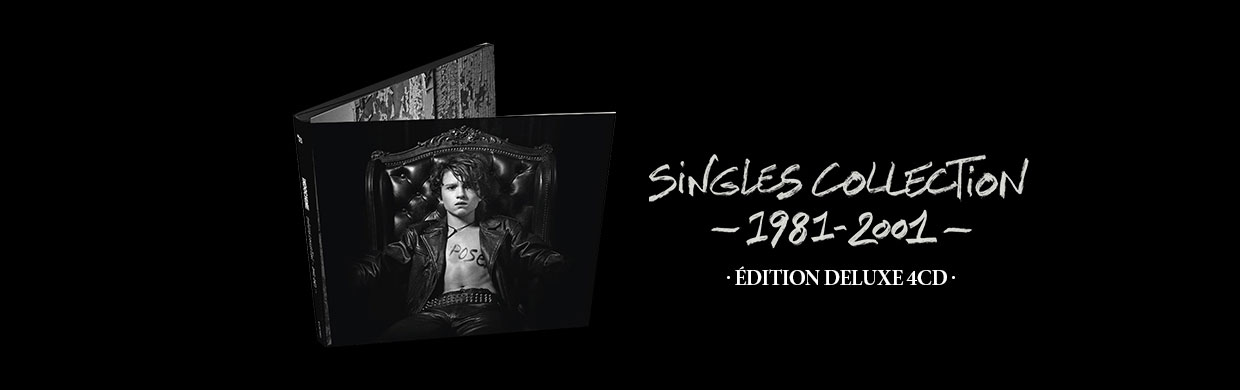 SINGLES COLLECTION 1981-2001 : Deluxe 4 CD