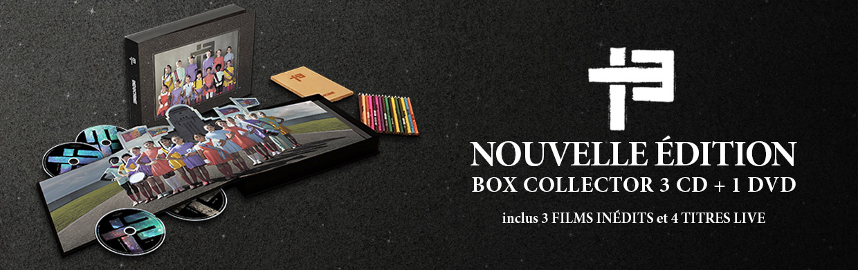 13 - NOUVELLE EDITION – BOX COLLECTOR 3 CD + 1 DVD