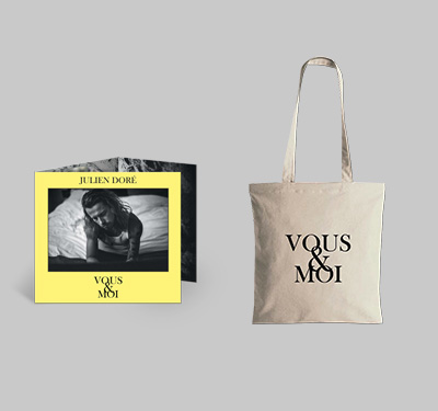 Vous&Moi - CD Jaune + Tote bag