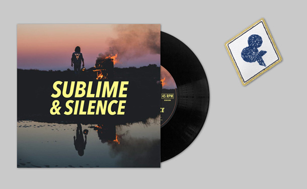 "Pack 45 tours ""Sublime & Silence"" + Ecusson"