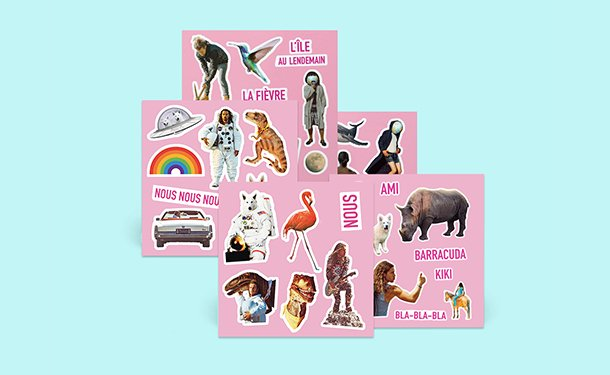 aimée - pack stickers
