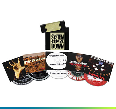 System Of A Down - Album Box