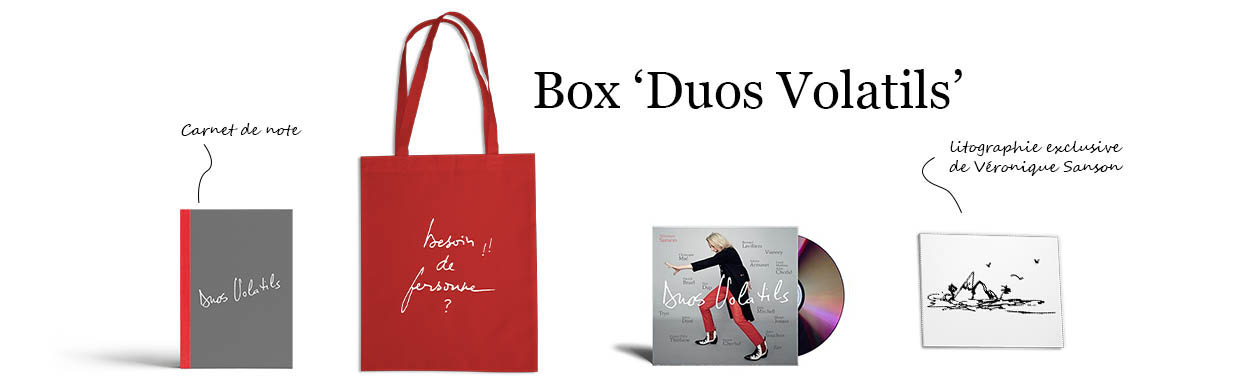 Box CD Duos Volatils par Véronique Sanson